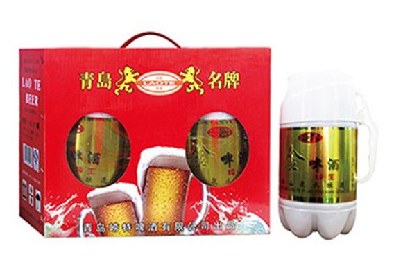 纯生金啤酒