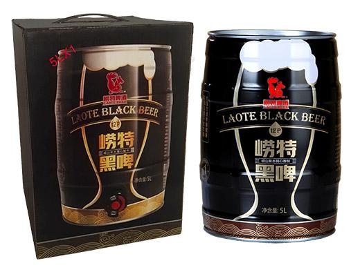 崂特黑啤酒